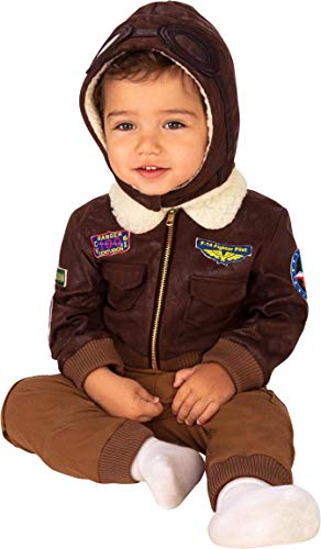 Rubie's unisex baby Aviator Infant and Toddler Costumes, As Shown, Infant US