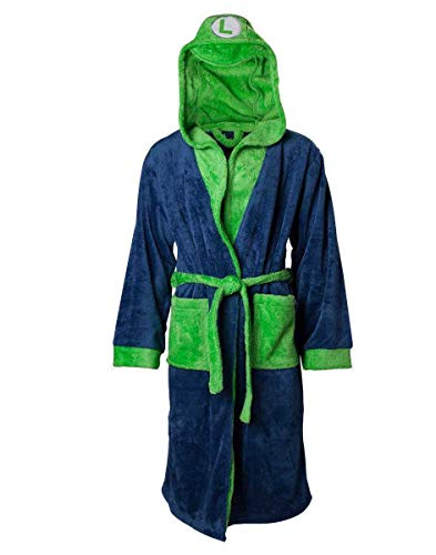 Bioworld Nintendo - Luigi Bath Robe Bademantel L/XL/XXL