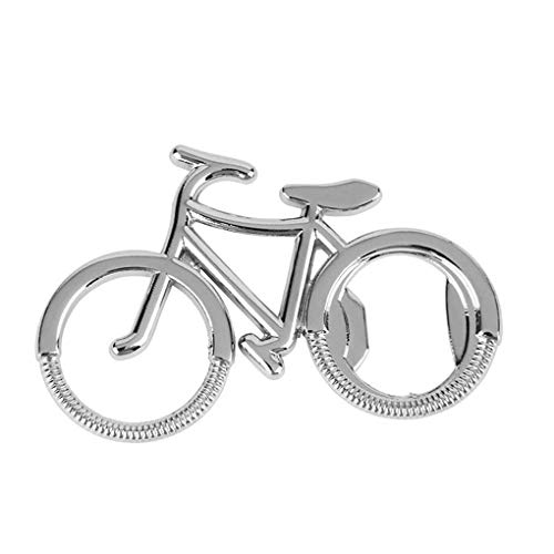 Guangcailun Forma 12pcs Bicicletas y estaran en abridor de Botellas de Cerveza Soda Clave Forma Llavero de Metal portátiles Anillos de Metal em Bicicletas de Cadena portátiles