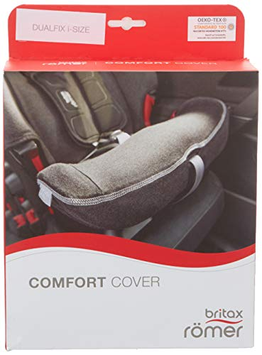 Britax Römer 2000031963 - Accesorios Originales, Funda de confort para silla de coche DUALFIX Z-LINE/DUALFIX i-SIZE/SWINGFIX, Dark Grey