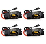 Readytosky 2-6S 30A ESC OPTO Brushless Electronic Speed Controller for F450 S500 ZD550 RC Helicopter Quadcopter(4PCS)