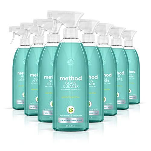 Method Glass Cleaner Waterfall 28 Oz 8 pack
