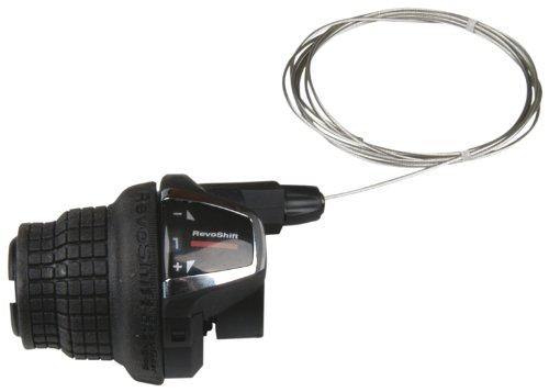 Shimano - Interruptor Giratorio de Cambio de Marchas para Bicicleta (Izquierda, 3...