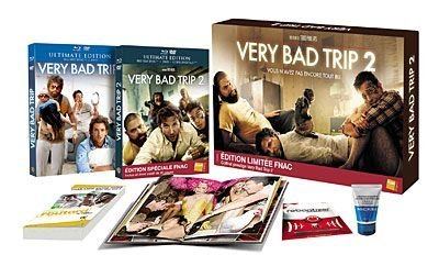 Very Bad Trip - Very Bad Trip 2 - Coffret Combo Blu-Ray + DVD Prestige Limité - Blu Ray