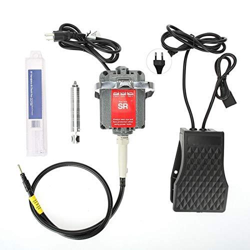 DAUERHAFT Schmuckwerkzeuge für hängende Bohrer 18000 U/min, langlebig, elektrisch, mit 4 mm Kopf, zum Schleifen, Bohren und Verarbeiten(European Standard 220V)