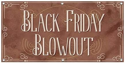 8x4 Victorian Card Wind-Resistant Outdoor Mesh Vinyl Banner CGSignLab Black Friday Blowout