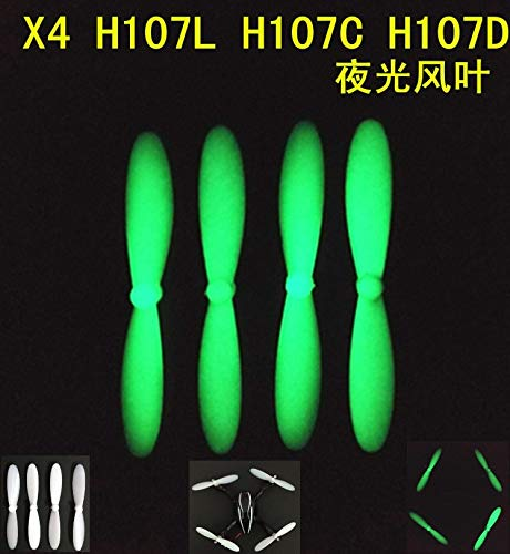 Yoton Accessories Fluorescence Propeller is H107 H107L H107C H107D CX-30 CX-30S CX-30W JJRC H6 H6D Drone Quadcopter Parts