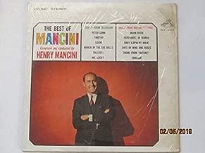 Henry Mancini Best of Mancini LP Vinyl Record (6455)