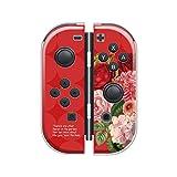 Nintendo Switch ケース 任天堂 スイッチ ジョイコン ケース ハードタイプ 傷から守る 花柄 ボタニカル 水彩 人気 かわいい おしゃれ 保護