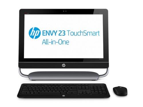 HP ENVY 23-d000el TouchSmart All-in-One Desktop PC, Windows 8,  Processore Intel Core i3 3220, Memoria 4 GB di DDR3,  HD SATA da 500 GB, Console Beats Audio