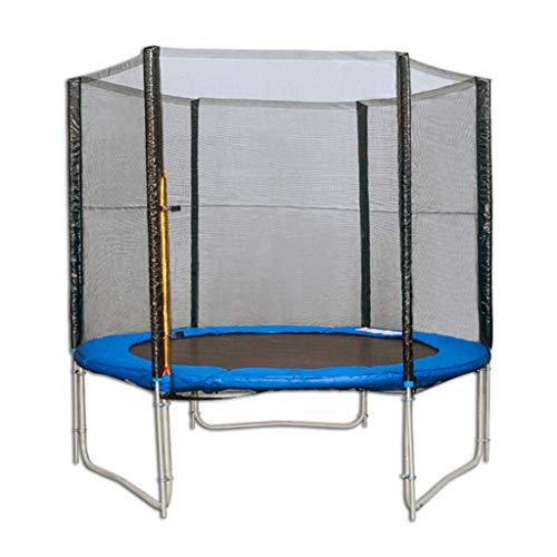 WSGZH Trampoline Adult trampoline Huishoudelijke trampoline Trampoline met beschermend net Grote trampoline Kan 300 kg dragen