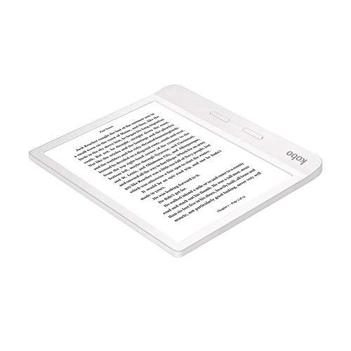 Kobo - Ereader - Kobo Libra H2O, 7 HD, botones laterales, blanco miniatura