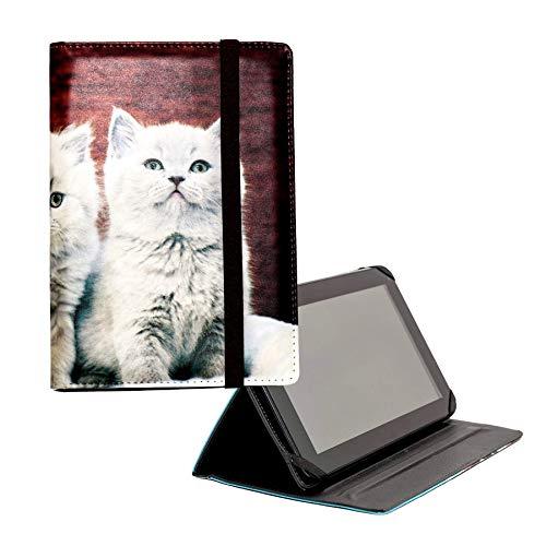 ANVAL Funda para Tablet 7', 8', 9', 9.7', 10.1' - Universal - Personalizable, Compatible Tableta 7, 8, 9, 9.7, 10.1 Pulgadas - (EST. 62)