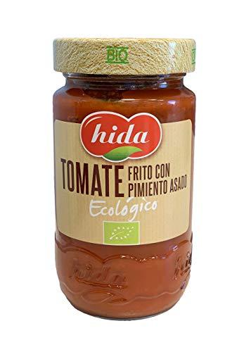 Hida Tomate Frito con Pimiento Asado Ecológico - Paquete de 6 x 350 gr - Total: 2100 gr