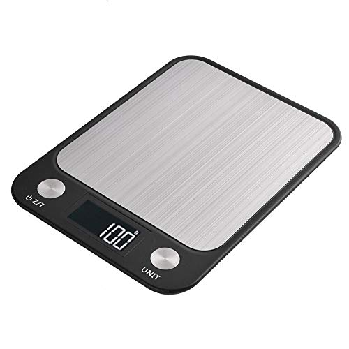 Keukenweegschaal waterdichte elektronische keuken draagbare koken bakken levensmiddelweegschaal gewicht meetinstrument 5 kg/1 g