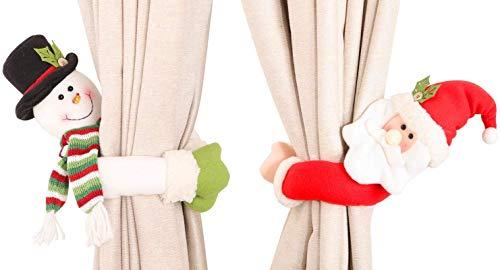 cortina navidad fabricante Huichao
