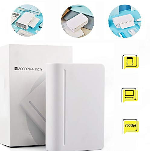 LHR Mini-Smartphone-Drucker, Großformat-High-Definition-Fotodrucker Handkonto Lebenspartner Geschenk Für EIN Neuartiges Erscheinungsbild