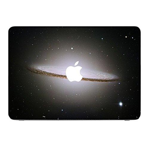 Weltraum 10194, Universum, Skin-Aufkleber Folie Sticker Laptop Vinyl Designfolie Decal mit Ledernachbildung Laminat & Farbig Design für Apple MacBook Air 11