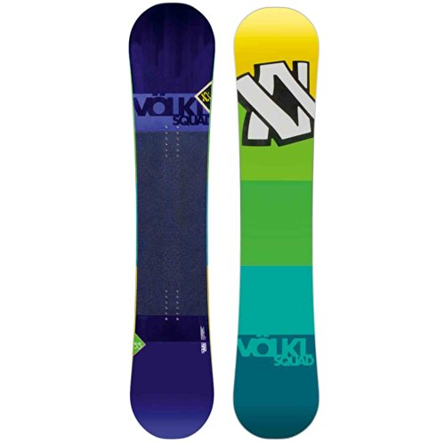 Herren Freestyle Snowboard Völkl Squad Rocker 158 2014