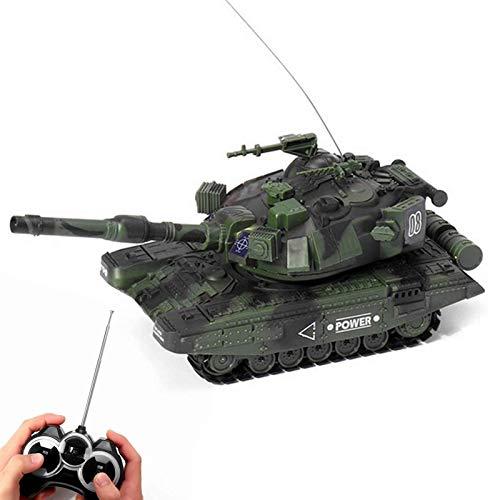 UIGJIOG RC Panzer, Funk-Fernbedienung Militärkampfpanzer, Das Shoots Airsoft Bullets, 1/32 Skala Modell für Kinder Weihnachten Geburtstags-Geschenke,Grün