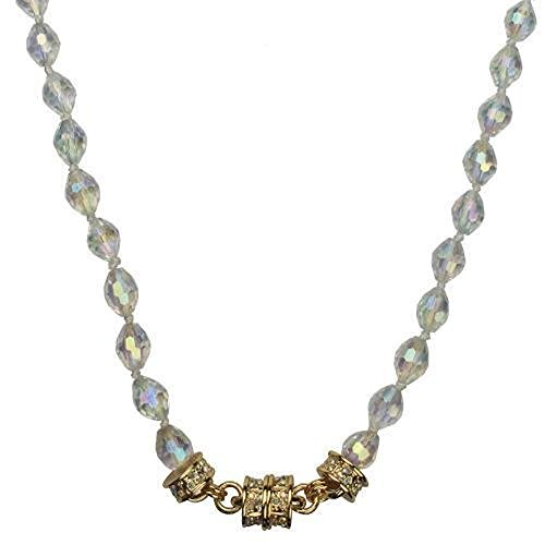 """Kirks Folly Crystal Desire Magnetic Interchangeable 30"""" Necklace (Goldtone)"""