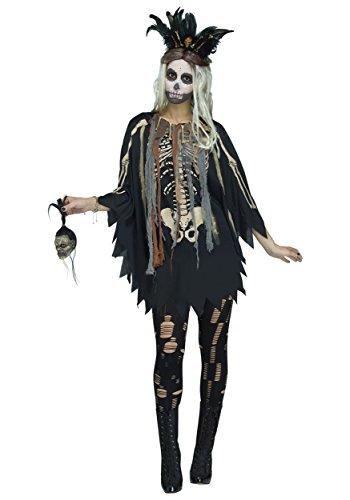 Voodoo Poncho Fancy dress costume Standard
