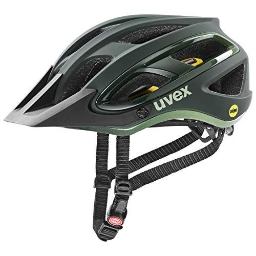 uvex Unisex– Erwachsene Unbound Fahrradhelm, Forest-Olive mat, 54-58 cm