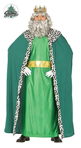 GUIRMA Disfraz Re Magio Melchiorre, Color Verde, L (52-54) 41688