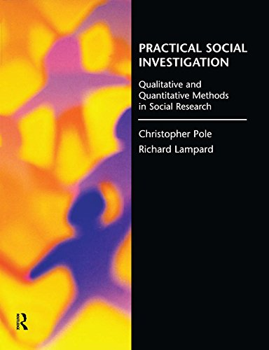 Practical Social Investigation: Qualitative and Quantitative Methods in Social Research (English Edition)