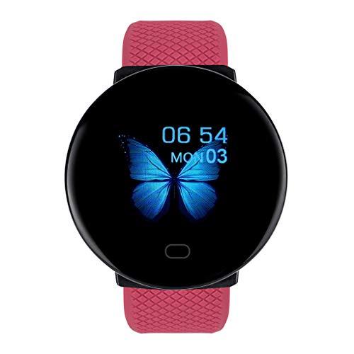 Riou Reloj Inteligente, Smartwatch Hombre y Mujer Pulsera Actividad Inteligent Deportivo Smart Watch Monitorización del sueño Fitness Tracker-Pulsera Impermeable Monitor de Sueño, Fitness