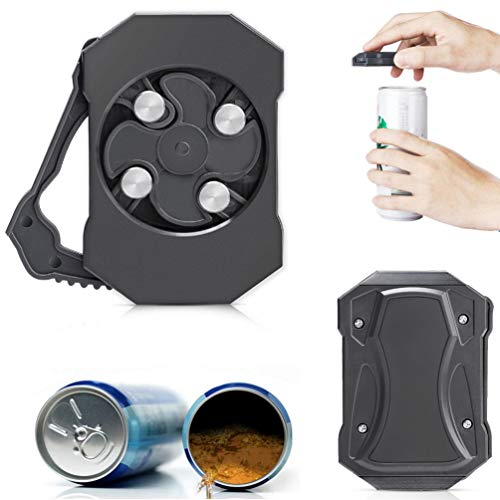 Go Swing Topless Can Opener Bar Tool, JASSINS Locking Feature Effortless Openers Household Kitchen Tool Small Safety Can Opener