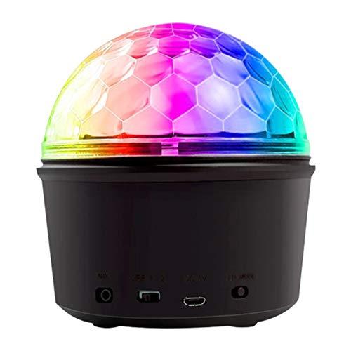 YYZLG Fernbedienung Lautsprecher bunt LED Bluetooth Lautsprecher Licht kreatives Geschenk Nachtlicht Geschenk Wireless Audio