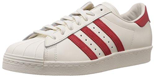 adidas Superstar 80s Deluxe - Zapatillas para Hombre, Color Vintage White s15-st/scarlet/off...