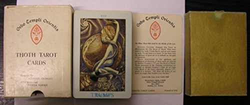 Thoth Tarot Cards (Ordo Templi Orientis) -
