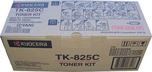 KYOCERA TK - 825C Toner 7000páginas Negro, Cian, Amarillo tóner y cartucho láser - Tóner para impresoras láser (Negro, Cian, Magenta, Amarillo, KM-C3225, KM-C4535E, KM-C3232, KM-C3232E, 1 pieza(s), Laser toner, 7000 páginas)