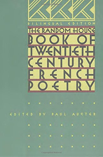 The Random House Book of 20th Century French Poetry:...