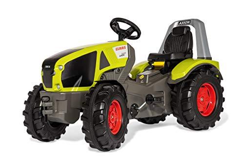Rolly Toys Trettractor RollyX-Trac Premium Claas Axion 940 (voor kinderen van 3-10 jaar, fluisterbanden) 640089