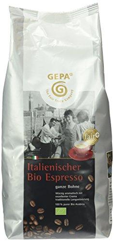GEPA Italienischer Espresso, 1er Pack (1 x 1 kg Packung) - Bio