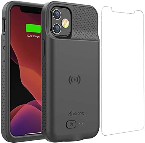 Battery Case for iPhone 12 Pro iPhone 12 5000mAh Slim Portable Protective Extended Charger Cover product image