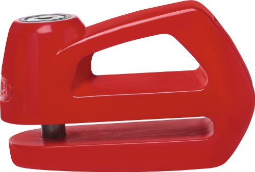 ABUS 55969 Bloccadisco Meccanico, Rosso, 5mm