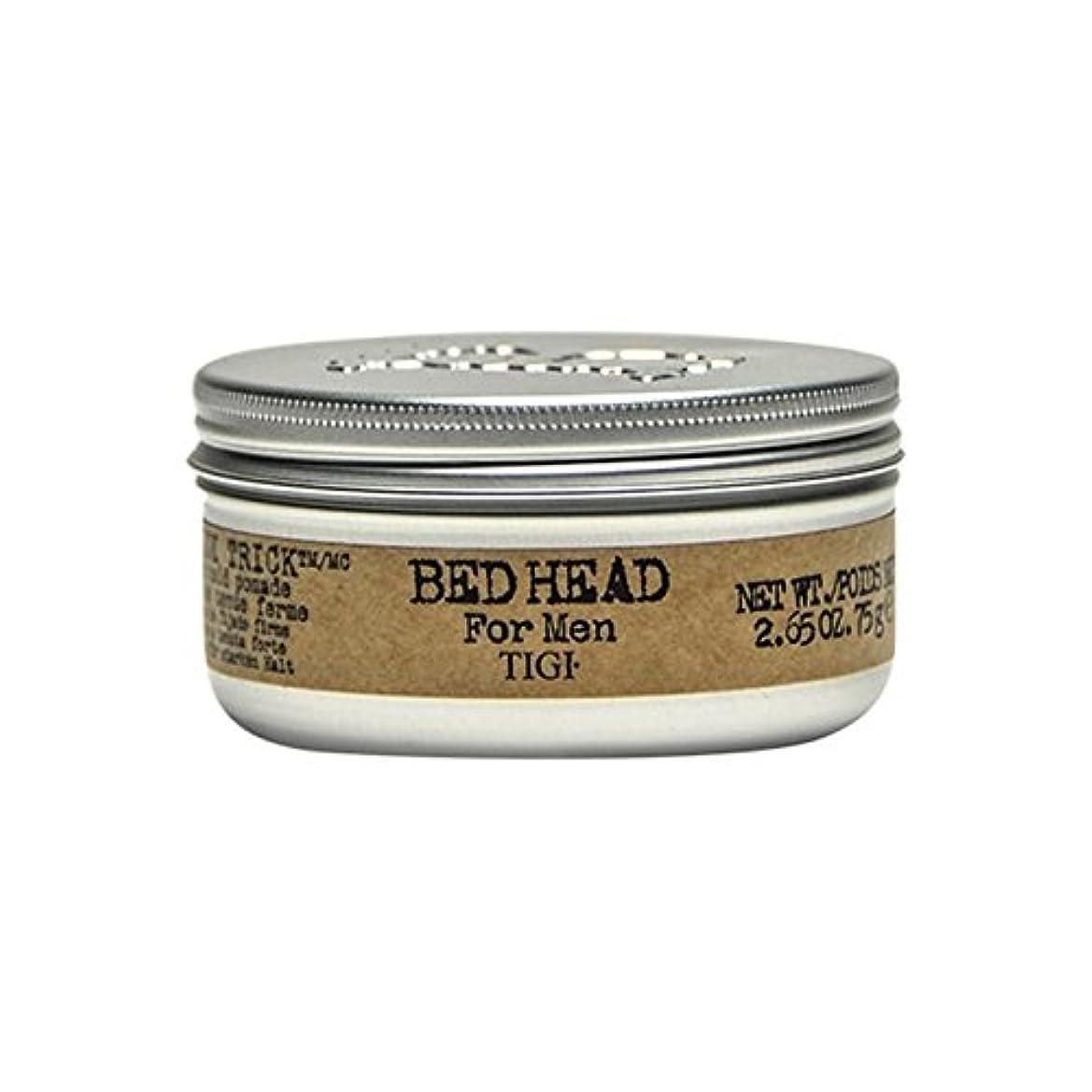 取得計算するボンド男性の滑らかなトリックポマード(75グラム)のためのティジーベッドヘッド x2 - Tigi Bed Head For Men Slick Trick Pomade (75G) (Pack of 2) [並行輸入品]