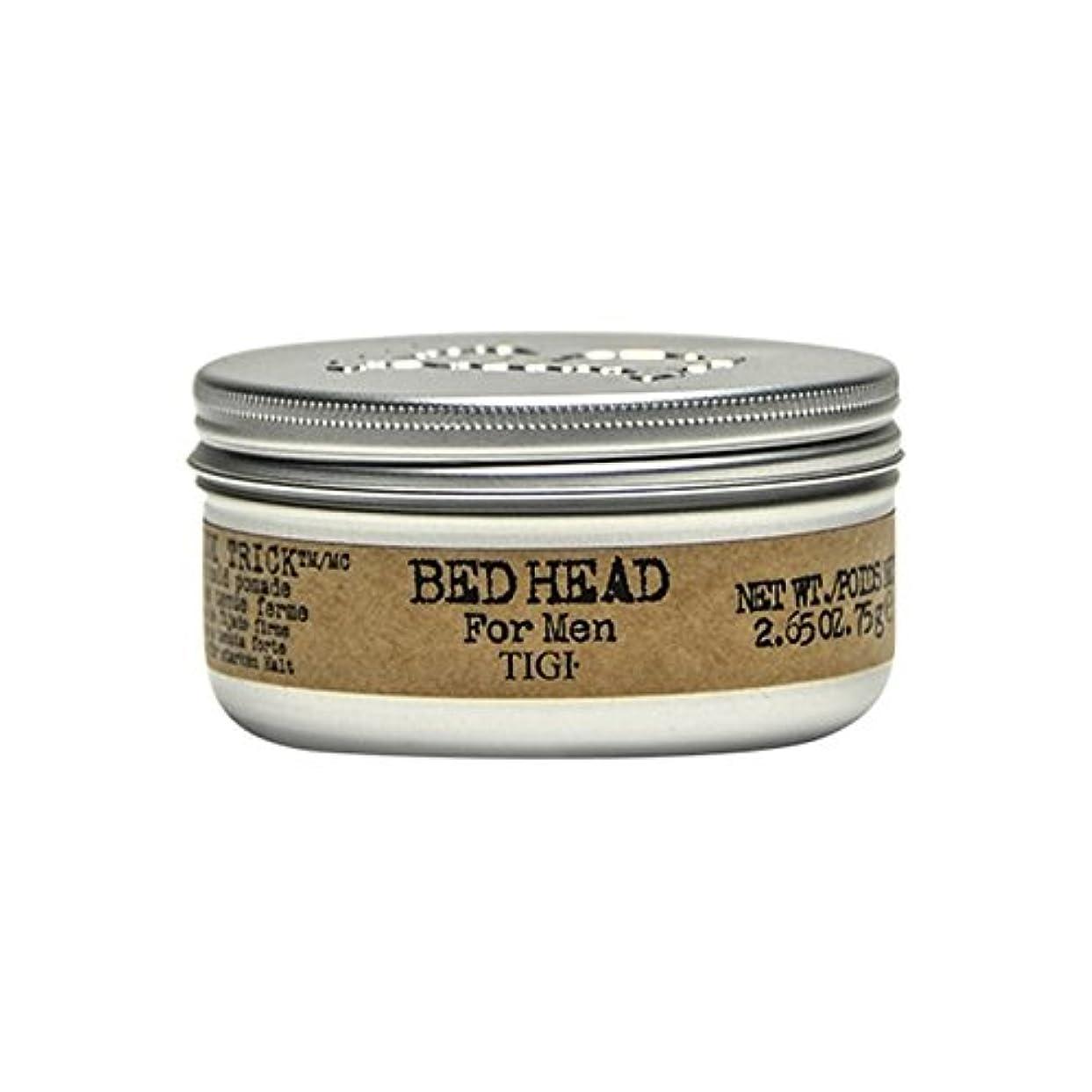 嫌悪共同選択カメTigi Bed Head For Men Slick Trick Pomade (75G) (Pack of 6) - 男性の滑らかなトリックポマード(75グラム)のためのティジーベッドヘッド x6 [並行輸入品]