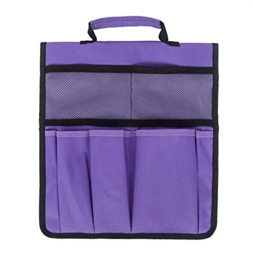 ZYYXB - Bolsa de herramientas para arrodillarse para jardín, taburetes de rodillas, tela Oxford, bolsa de herramientas de jardinería, bolsa de almacenamiento para taburete, color morado