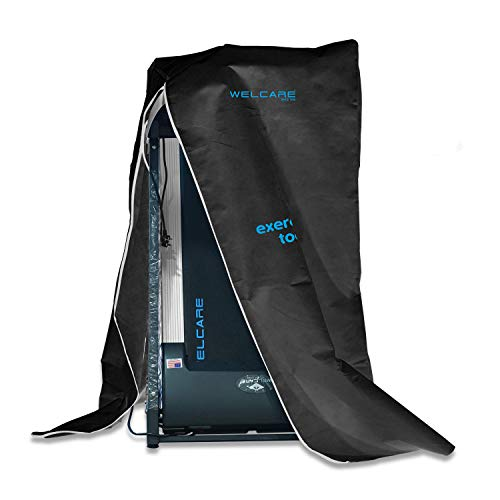Welcare Treadmill, Running Machine Protective Water Proof Folding Cover, Black