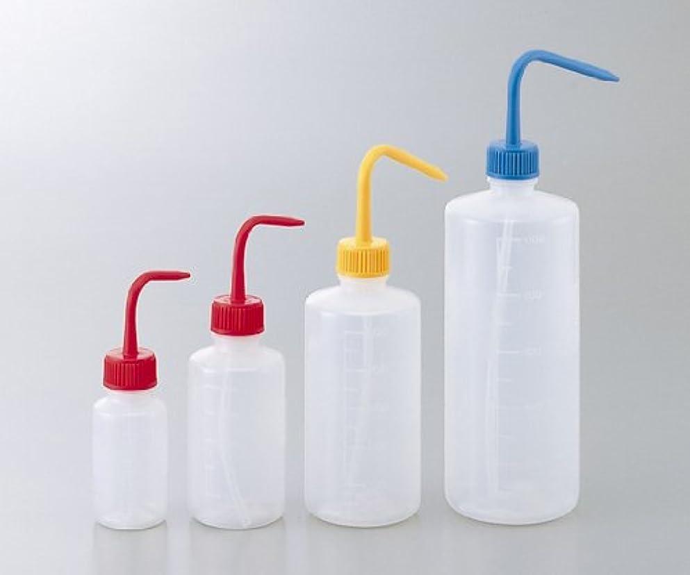 電話に出る上流のカート洗浄瓶カラフルバリエ(細口) ブルー 1L
