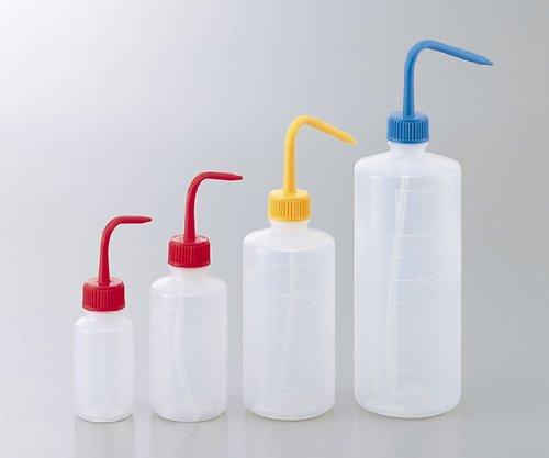 洗浄瓶カラフルバリエ(細口)イエロー1L