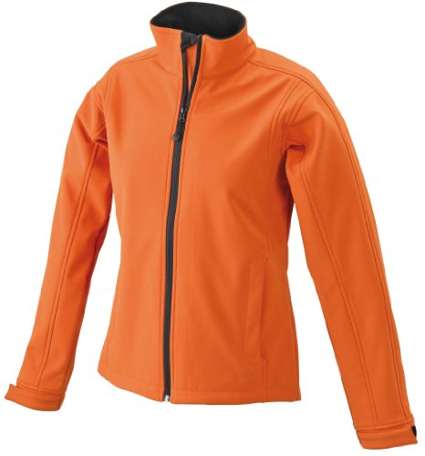 James & Nicholson Damen Jacke Softshelljacke orange (pop-orange) Small