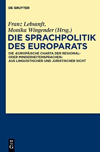 Die Sprachpolitik des Europarats: Die
