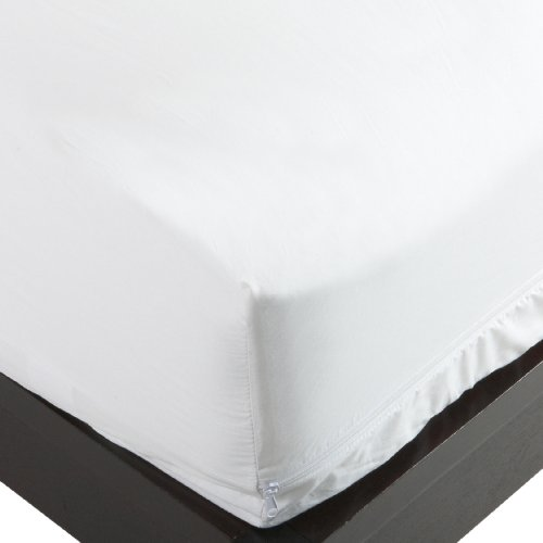 Allersoft 100-Percent Cotton Bed Bug, Dust Mite & Allergy Control Mattress Protector, Full 9-inch