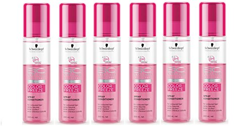 BC COLOR FREEZE 4.5pH Spray Conditioner Pack of six (6x200ml)